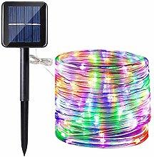 Solar Rope Lights,DINOWIN 200 LEDs 72ft/22M
