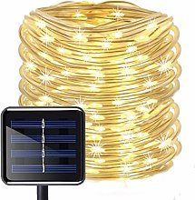 Solar Rope Lights Outdoor,KINGCOO 12M/39ft 100LED
