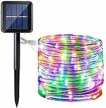 Solar Rope String Light, EONYUANGUO 72ft/22M 200