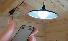 Solar Shed Light with Remote Control