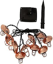Solar String Light 16.4Ft, Waterproof Lamp with 20
