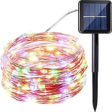Solar String Lights 100LED 2 Modes Solar Fairy