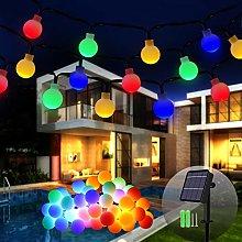Solar String Lights, 12M/39Ft 120 LED Solar Fairy