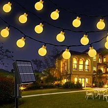 Solar String Lights, 39 Ft 80 LED Outdoor Solar