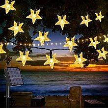 Solar String Lights, 39 ft 80 LED Outdoor String