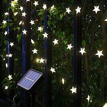 Solar String Lights, 55Ft/17M 100 LED Solar Star