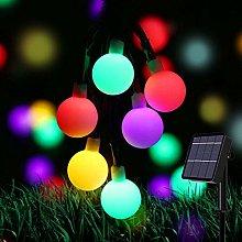 Solar String Lights,80 LED 24 ft Solar Outdoor