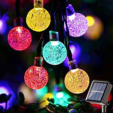 Solar String Lights BrizLabs 60 LED 45ft Solar