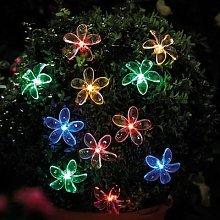 Solar String Lights Flower By Coopers of Stortford