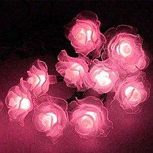 Solar String Lights Garden, 6M 30LED Rose Flower