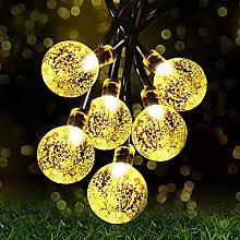 Solar String Lights Garden, 8 Modes 22.3Ft 30 LED