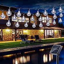 Solar String Lights Garden, BrizLabs 30 LED Solar