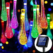 Solar String Lights Outdoor, 30 LED 6M/20Ft