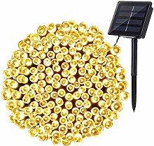 Solar String Lights Outdoor, BrizLabs 22M 200 LED