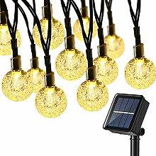 Solar String Lights Outdoor, BrizLabs 45ft 60 LED