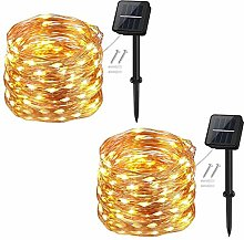 Solar String Lights Outdoor,Cshare 120LED 39Ft/12m
