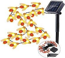 Solar String Lights, Outdoor Waterproof Fairy