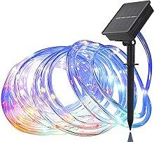 Solar String Lights,Solar Rope Lights Outdoor,100