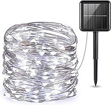 Solar String Lights with 8 Lighting Modes