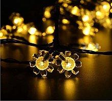 Solar Sunflower Lights,KINGCOO Waterproof 21ft