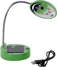 Solar Table Lamp,DINOWIN USB Rechargeable Portable