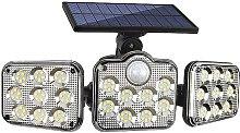 Solar wall light, Split induction wall light,