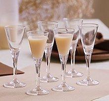 SOLAVIA Clear Glass Liqueur Glass 55ml Gift
