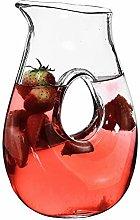 SOLAVIA Glass Wine Water Squash Carafe Jug and