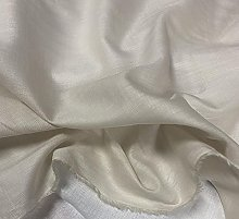 Sold by the metre as decorative fabric, white pure