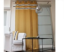 Soleil d'ocre Cow Camel Curtain with Eyelets