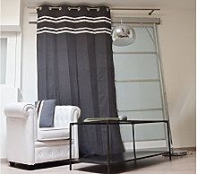 Soleil d 'Ocre Cow Cotton Curtain with Eyelets