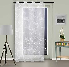 Soleil d'ocre Curtain with Eyelets 135 x 250