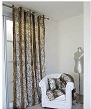 Soleil d'ocre Curtain with Eyelets 140 x 250