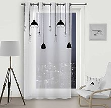 Soleil d 'Ocre Curtain with Eyelets 140x