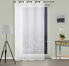 Soleil d 'Ocre Curtain with Eyelets, Maelis,