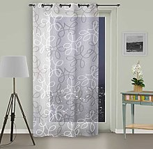 Soleil d 'Ocre Curtain with Eyelets, Manon,