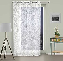 Soleil d 'Ocre Curtain with Eyelets, Maud,