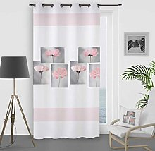 Soleil d 'Ocre Curtain with Eyelets Petale,