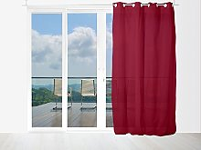 Soleil d 'Ocre Panama Net Curtain with Eyelets