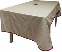 Soleil d'Ocre Rectangular Tablecloth with