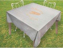 Soleil d'Ocre Square Tablecloth 180 x 180 cm