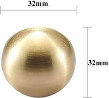 Solid Brass Cabinet Knobs Drawer Pull Handles Gold