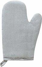 Solid Color Heat Resistant Glove Cotton Linen