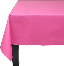 Solid Colour 100% Cotton Tablecloth Fleur De