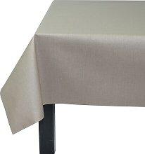 Solid Colour 100% Cotton Tablecloth Fleur De Soleil