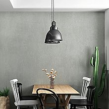 Solid Colour Celined Coloured Grey Wallpaper