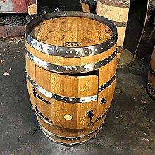 Solid Oak Whisky Barrel Drinks Cabinet | Home Bar