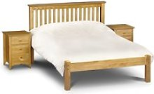 Solid Pine Wooden Bed Frame 4ft6 Double Barcelona