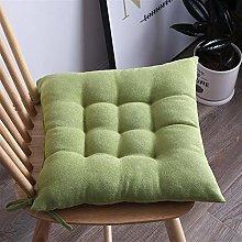 Solid Soft Chair Cushion Sofa Waist Pillow Soft