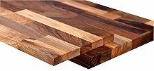 Solid Walnut Stair Cladding Kit - Tread: 0.995M x